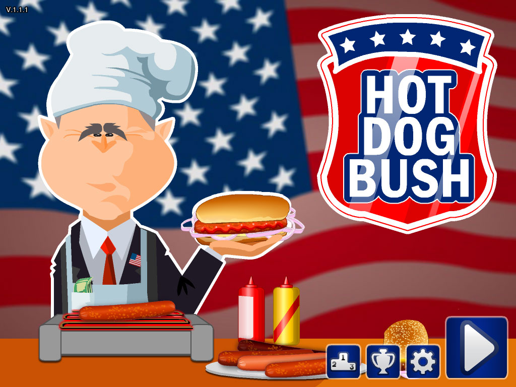 hot dog bush full screen